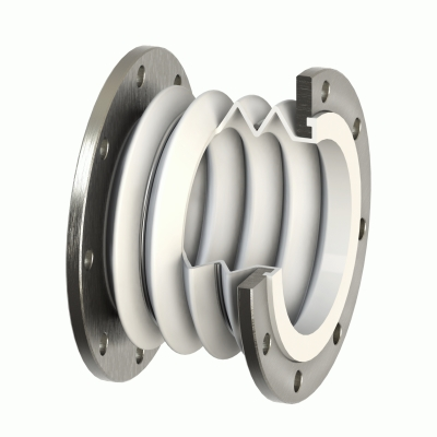 Multi-arches PTFE expansion joints